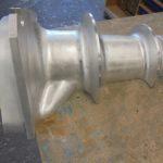 Modèle aluminium usiné