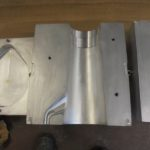 boite à noyau aluminium usiné