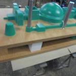 modèle série en lab vert